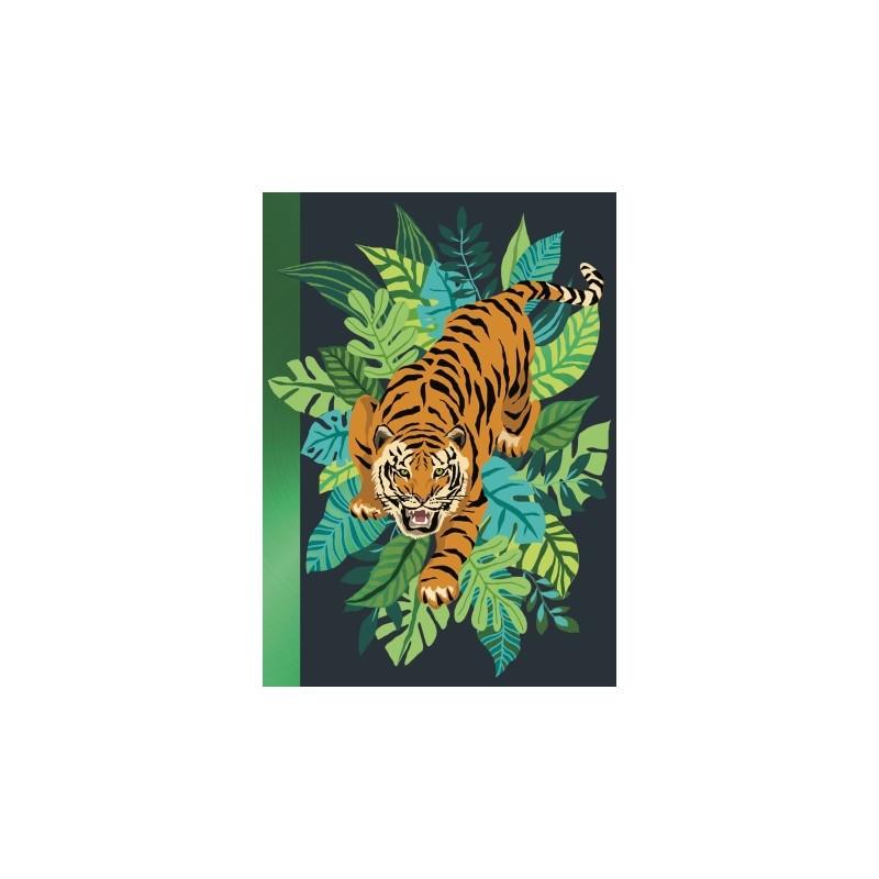 Carnet souple A5 Tigre