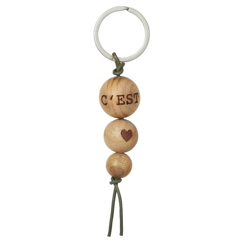 Porte clés C'est la vie