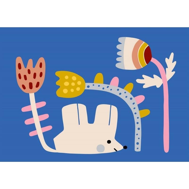 Carte simple Petite souris