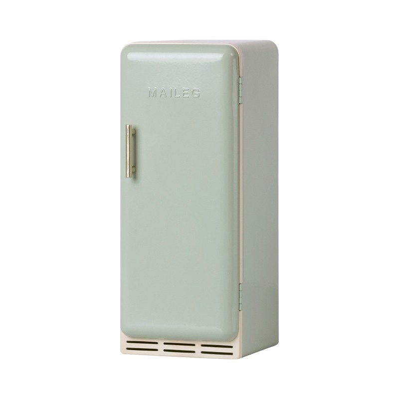 Réfrigérateur en métal vert...