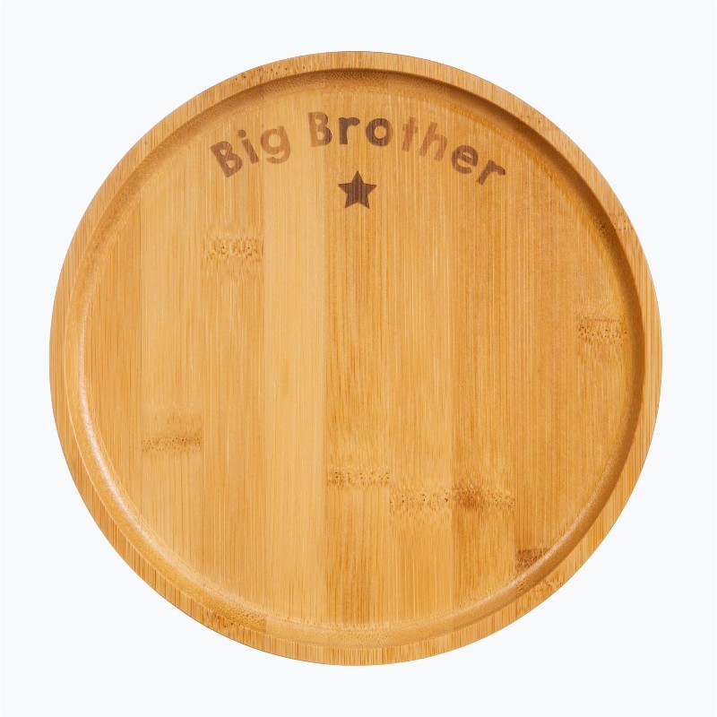 Assiette ronde Big brother...
