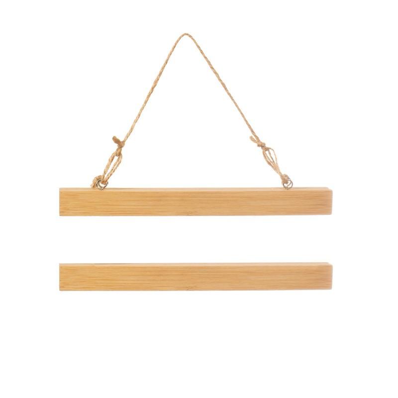 Mini porte affiche bambou
