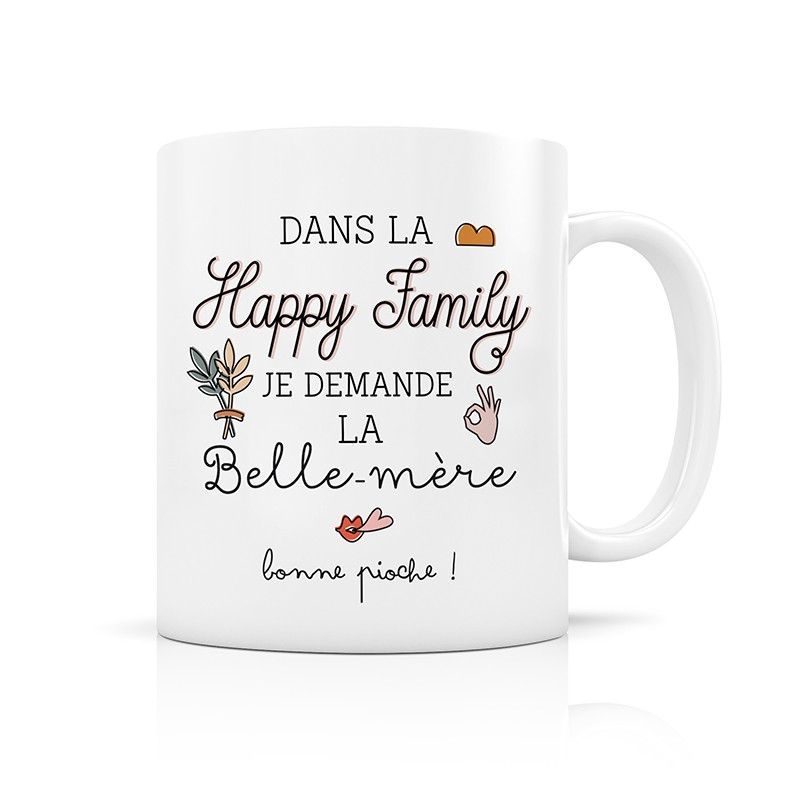 Mug Happy family, la belle...