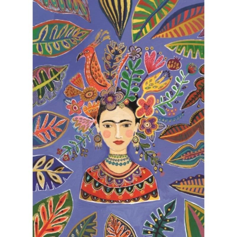 Carte géante Frida Kahlo