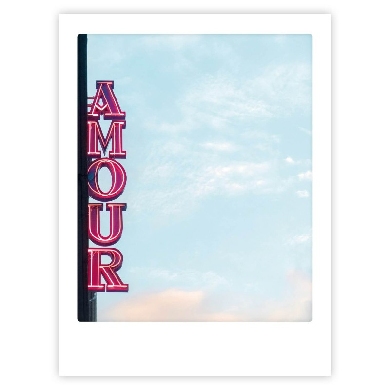 Poster Amour 30x40 cm