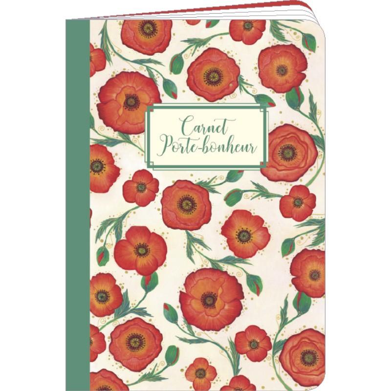 Carnet de notes Coquelicots