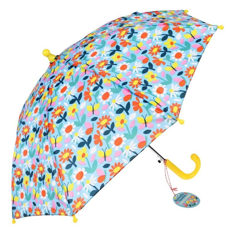 Parapluie Enfant Jardin fleuri