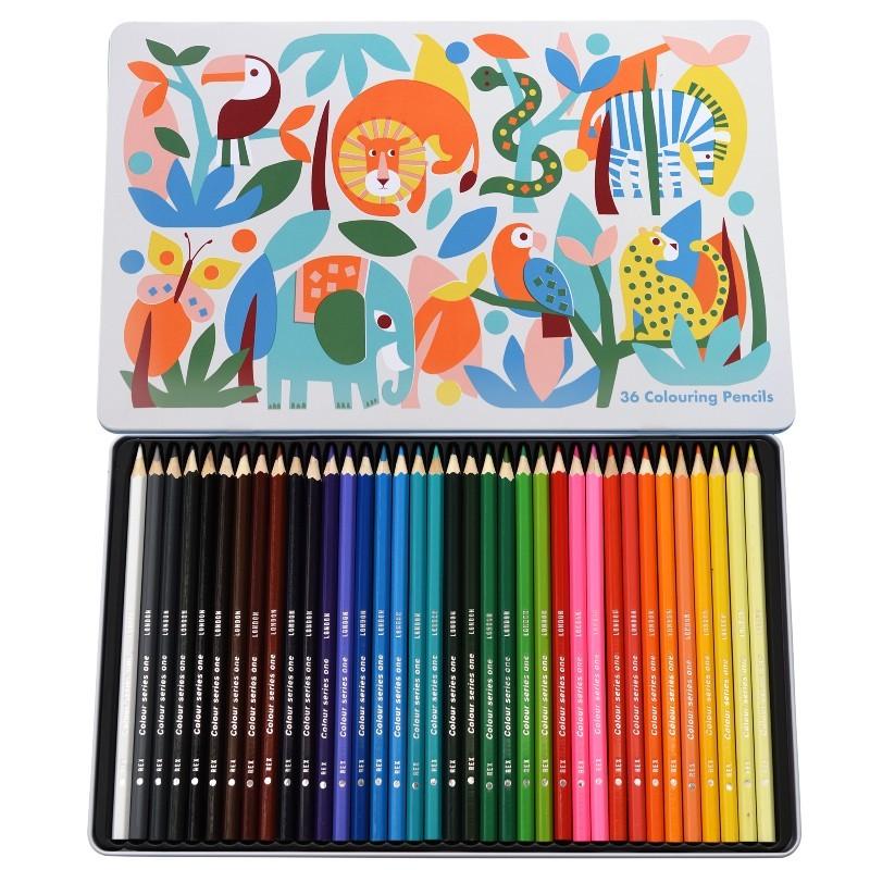 Boîte de 36 crayons de...