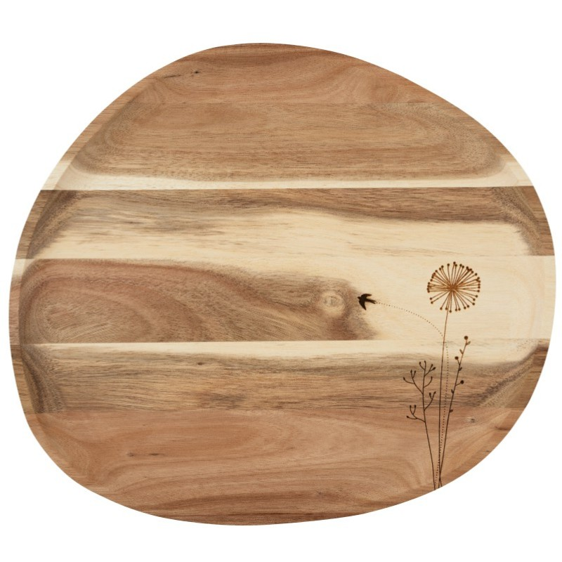 Grand plateau en bois