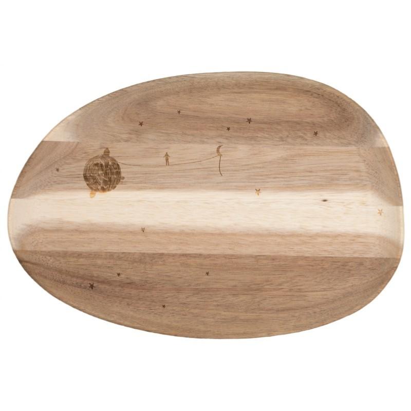 Plateau moyen en bois