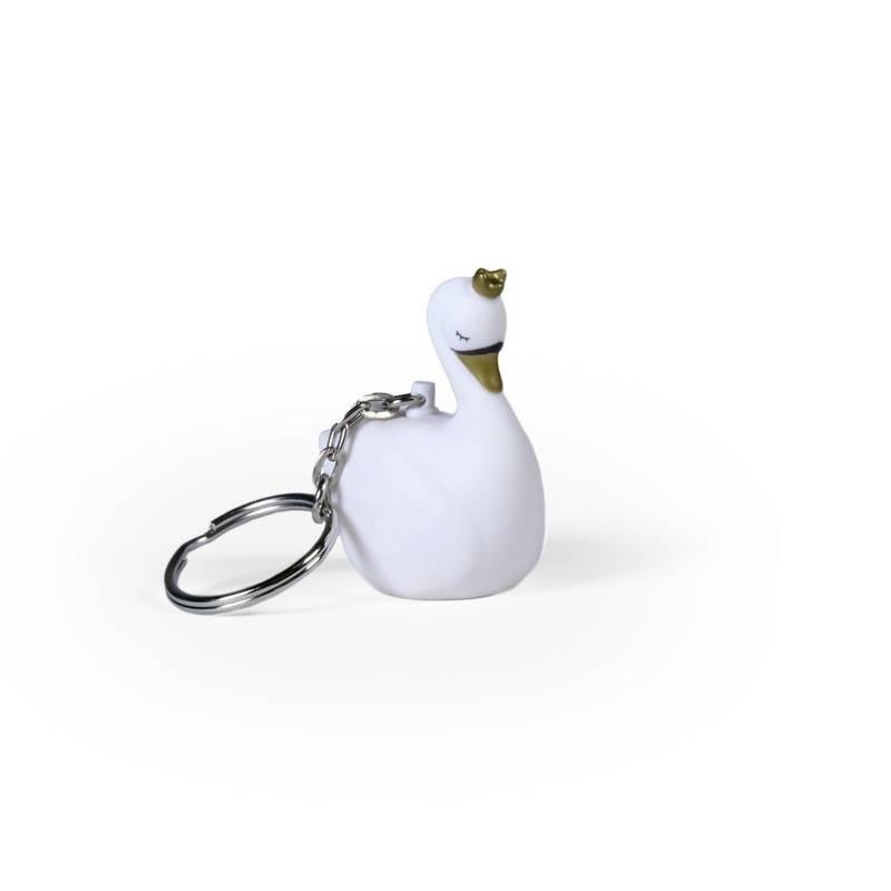 Porte clés Cygne Dame Blanche